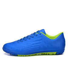 Children Men's TF AG Soccer Shoes Trainer Cleats Nail Football Shoes 4 Colors