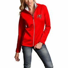 Antigua Tampa Bay Buccaneers Women's Red Leader Full-Zip Performance Jacket