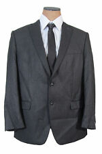 NEW Mens Calvin Klein 2 Button Charcoal Gray Slim Fit Sport Coat Jacket
