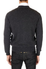 CRUCIANI New Men GREY Cashmere Buttons Cardigan Sweater Made in Italy