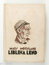 1927 Estonia Avant Garde Cover by Peet AREN book MATS MÕTSLANE Liblika Lend