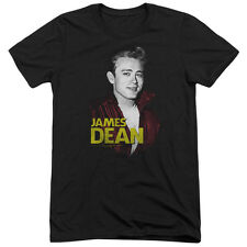 James Dean Red Jacket Mens Tri-Blend Short Sleeve Shirt