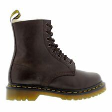 Dr.Martens Serena Burnished Wyoming Dark Brown Womens Boots
