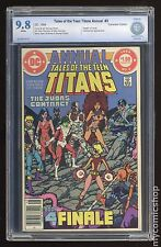 New Teen Titans (1980) Annual Canadian Price Variant #3 CBCS 9.8