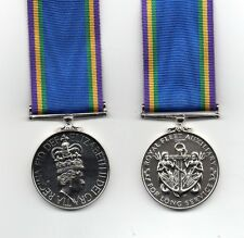 ROYAL FLEET AUXILIARY    LONG SERVICE MEDAL - SUPERB QUALITY DIE-STRUCK REPLICA