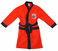 Boys Marvel Ultimate Spiderman S Logo Dressing Gown Bath Robe 2 to 8 Years