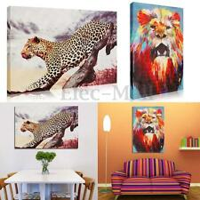 Lion Leopard Animal Modern Unframed Canvas Painting Decorative Wall Home Decor