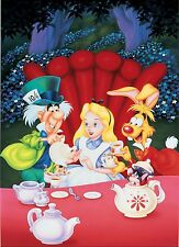 Alice In Wonderland Edible Party Cake Image Topper Frosting Icing Sheet