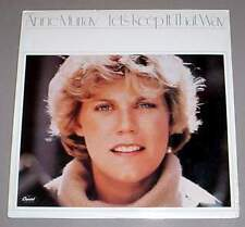 ANNE MURRAY SEALED LP - Let's Keep It That Way