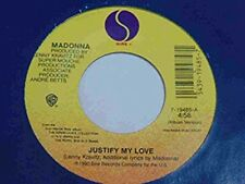 """EXPRESS YOURSELF (1990) / JUSTIFY MY LOVE (45/7""""), MADONNA,Very Good, #### 45 RP"""