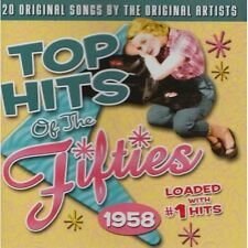 Top Hits of The Fifties: 1958 Various Artists Audio CD