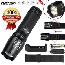 5000LM 5 Modes CREE XM-L T6 LED Tactical Flashlight Torch Lamp+Battery+Charger