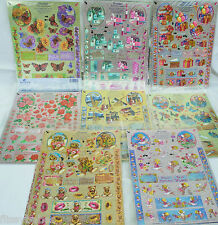 A4 Dufex Freestyle DIE CUT Decoupage Sheets & Backing Paper Everyday Themes NEW