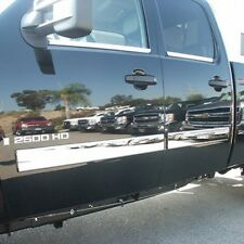 Pro Trim Chrome Body Side Molding Trim for 2009-2013 Silverado Extended Cab