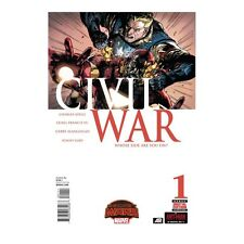 Civil War Marvel Comic Books #1-5 (5 Comic Books)