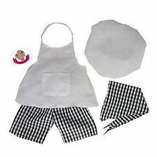 Build Your Bears Wardrobe 15-Inch Clothes Fit Build Bear Chef Outfit