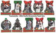 2001 Pacific Ornaments Baseball Team Sets ** Pick Your Team **