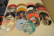 100 Music CD's Scratched As-Is  (Disc Only) Lot #8