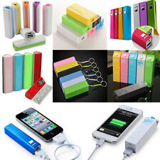 2600mAh Portable Power Bank Backup External Battery Charger For iPhone Samsung