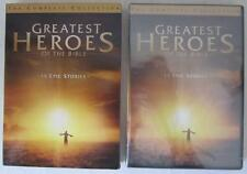 Greatest Heroes of the Bible: The Complete Collection DVD 4-Disc Set SEALED
