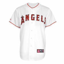 Majestic Los Angeles Angels of Anaheim Big & Tall White Replica Jersey