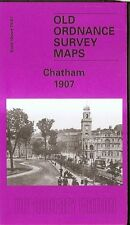 HIGHLY DETAILED ORDNANCE SURVEY MAP, CHATHAM, KENT 1907