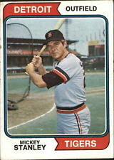1974 (TIGERS) Topps #530 Mickey Stanley - VG-EX