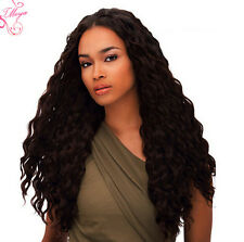 lace front wig lace wig 100% indian remy human hair curly full wigs black Wig