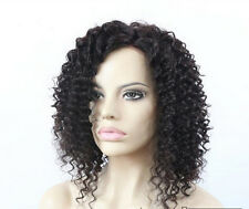 """100% Brazilian Remy Human Hair Sexy Curly Woman Lace Front/Full Wigs 12""""-24"""" Wig"""