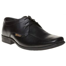 New Boys Ben Sherman Black Dexi Lace Leather Shoes Up
