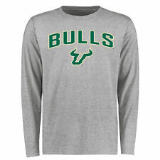 South Florida Bulls Ash Proud Mascot Long Sleeve T-Shirt