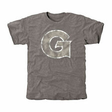Georgetown Hoyas Gray Classic Primary Tri-Blend T-Shirt