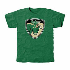 South Florida Bulls Green Auxiliary Logo Tri-Blend T-Shirt
