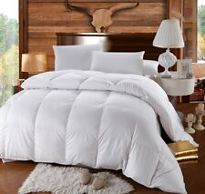 King/Calking Royal Hotel Goose Extra Warmth Down Comforter Baffle Box 500TC