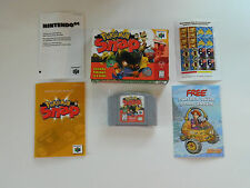Pokemon Snap COMPLETE IN BOX Nintendo 64 CIB N64 Tested and Working MINT