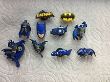 LOT OF BATMAN JIBBITZ BATMAN SHOE CHARMS FIT CROCS BATMOBILE BATMAN LOGO JIBBITZ
