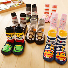Boots Slipper Boy Baby Kids Toddler Girl Anti-slip Shoes Socks 0-24 Months CHI