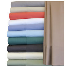 Cal-King Size 100% Bamboo Cotton Blend Sheet Set, Hybrid Bamboo 300TC Bed Sheets