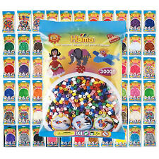 Hama Beads - 38 Colours to Choose - 1000 Per Bag (Approx)