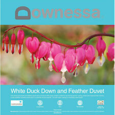 DOWNESSA WHITE DUCK DOWN AND FEATHER QUILT -Single Double Queen King Super King