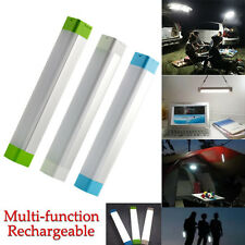 Rechargeable 8W LED Tent Camping Light Magnetic Multi-function Lamp Bright Torch