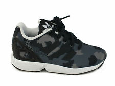 ADIDAS Zx Flux C sneakers LEATHER BLACK S76300 winter 2017