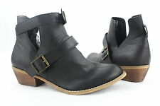 NEW Abound Double Buckle Cut Out Design Ankle Boot-Missing Strap MULTIPLE COLORS