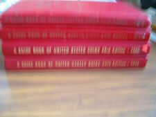 4 Different Red Books by R.S. Yeoman     1968,1971,1981, 1990