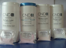CREATIVE  CND NAIL DESIGN ACRYLIC POWDER 22g  CLEAR/PINK/WHITE decanted UK .