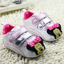 Infant baby girl crib shoes casual shoes Sports shoes size 0-6 6-12 12-18 months