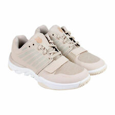 K-Swiss X Court Athleisure Womens Tan Synthetic Athletic Lace Up Running Shoes