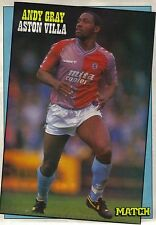 MATCH football magazine player picture poster Aston Villa - VARIOUS