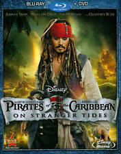 Pirates of the Caribbean: On Stranger Tides - Blu-ray Disc (Never Played) & Box