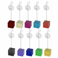 Household Office Resin Musical Note Shaped Tabletop Decoration Photo Memo Clip